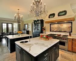 chandelier over kitchen island good furniture net
