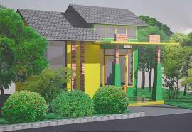 Tropical House Design Blends in with the Environment