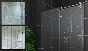 beautiful glass sliding shower doors frameless door hardware