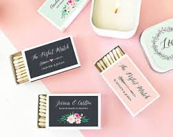 wedding matchboxes wedding matches etsy