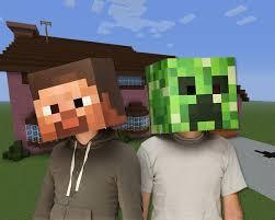 Steve Halloween Costume Minecraft Steve Head Costume