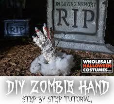 diy zombie hand prop wholesale halloween costumes blog