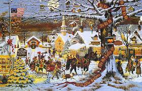charles wysocki christmas prints limited editions country art