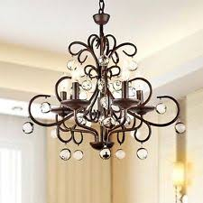Wrought Iron Pendant Light Wrought Iron Light Fixture Ebay