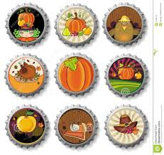 free thanksgiving graphics thanksgiving bottle caps stock image image 11206141