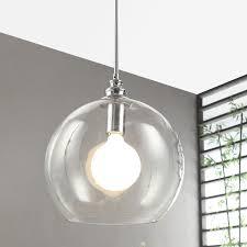 Clear Glass Pendant Light Fixtures Best 25 Clear Glass Pendant Light Ideas On Pinterest Glass