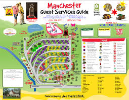 Memphis Tn Zip Code Map by Manchester Tennessee Campground Manchester Koa