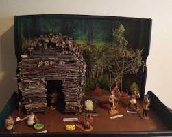 4th grade diorama project eastern woodland iroquois longhouse
