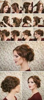 Hochsteckfrisurenen F Schulterlanges Haar Zum Selber Machen by Einfache Anleitungen Für Steckfrisuren Mit Schulterlangem Haar