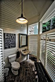 How To Make An Outdoor Bathroom Outdoor Bathroom This Bathroom Is Located In Our