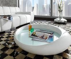 Wohnzimmer Tisch Deko Interessant Couchtisch Weiß Rund Wohnzimmertisch Organic Weiss