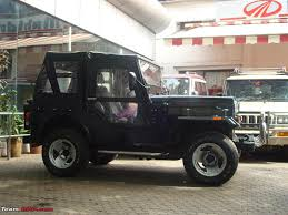 smallest jeep mahindra classic 4x4 2 5 liter diesel back on the road team bhp