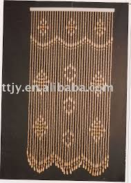 70s Beaded Door Curtains Wooden Bead Door Curtain I Am Keeping An Eye For Just The Right