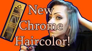 sneak peak new argan oil chrome haircolor youtube