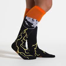 halloween socks frankenstein u0027s sockster women u0027s knee high socks sock it to me
