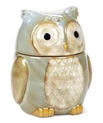 owl kitchen canisters 616069019 owl countertop collection 4 pc canisters and tray set
