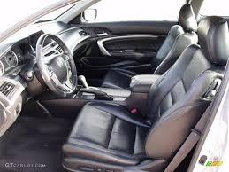 2008 Honda Accord Interior Black Interior 2008 Honda Accord Ex L Coupe Photo 41043501