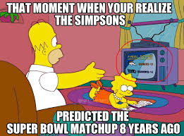 Haha Simpsons Meme - superbowl 48 simpsons meme by roninhunt0987 on deviantart