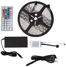 Led Strip Lights Remote Control by Amazon Com Marq Brightstrip 5 300s Ul Certified 5 Meter