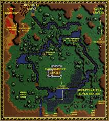 The Forest Game Map Hollow World Valley
