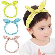 knot headband new easter day infant baby bunny bow headband baby hair