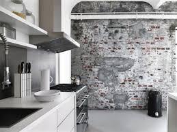 papier peint imitation carrelage cuisine cuisine osez le papier peint le papier papier peint et