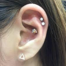 second ear piercing earrings 26 unique ear piercing ideas