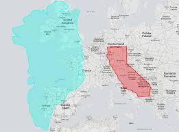 True Size World Map by True Size Map La Carte Interactive Qui Montre Les Vraies