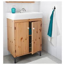 silverån sink cabinet with 2 doors light brown ikea