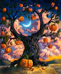 halloween art u2013 october halloween calendar