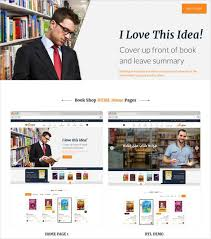 html5 templates for books 30 book store website themes templates free premium templates