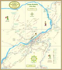 Laos World Map by Luang Prabang Area Map Map In Laos Pinterest Area Map And