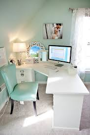 turquoise barbie house white desks tiffany blue and offices