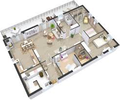 Floor Plans For Large Families by 3 Best Kitchen Floor Plan For Your Next Renovation In 3d Format