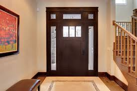 Interior Door With Transom Craftsman Front Entry Doors In Chicago Il At Glenview Haus