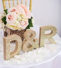 for wedding choosing a initial letters jewelry