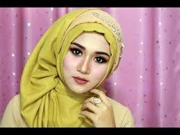 tutorial makeup natural hijab pesta tutorial make up dan hijab sege empat semple mewah hijab pesta