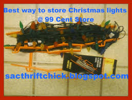 best way to store christmas lights