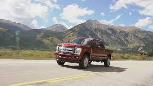 ford unveils new 2018 f series super duty limited with up to 10