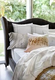 statuario bedding collection calacatta marble sateen sheets and