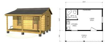 One Room Cottage Floor Plans Small Log Cabin Kits Southland Log Homes