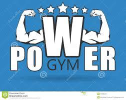 gym logo stock vector image 50438207