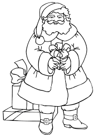 santa coloring pages free santa coloring pages download santa