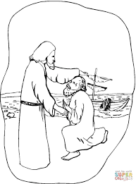 jesus healing the sick coloring page free printable coloring pages