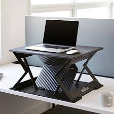 Laptops Desk Varidesk S Foldable Stand Up Desk For Laptops