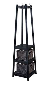 Home To Office by Amazon Com H2o Coat Rack Tower Free Standing With 2 Storage