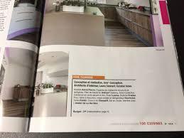 cuisine et vie inova cuisine à l honneur dans cuisines et bains magazine vendée 85