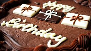 happy birthday chocolate cake wallpaper hd desktop ololoshenka