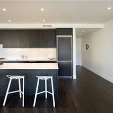 Simple Condo Kitchen Design Ideas Contemporary Brwon Wooden - Condominium interior design ideas