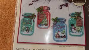 обзор набора dimensions jar ornaments рождесвенские